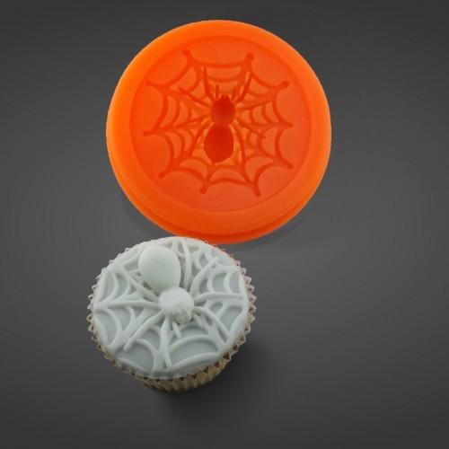 Halloween Spinnen Muffins - Silikonform