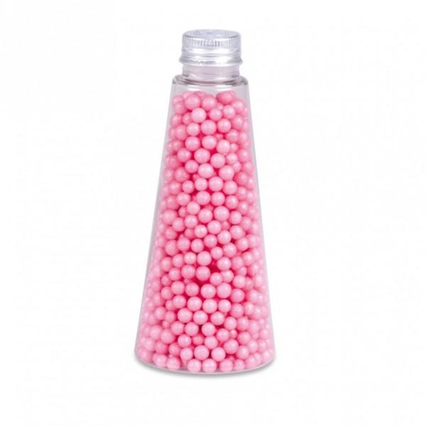 Streudekor Perlen Glimmer Pink
