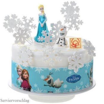 Tortenbordüre Frozen Elsa