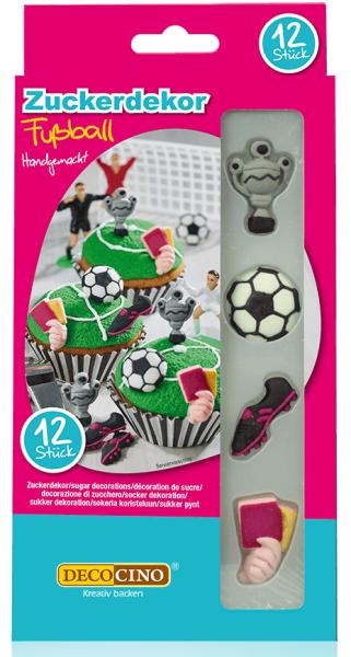 Zuckerdekor Fußball