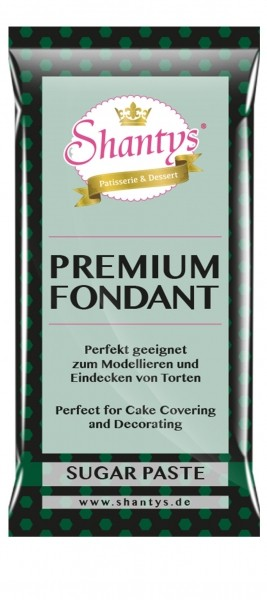 Shantys Premium Fondant - Grün - 1 kg