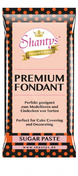 Shantys Premium Fondant - Orange - 1 kg