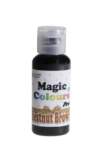 Magic Colours, Gelfarbe - Chestnut Brown, Braun 32 g