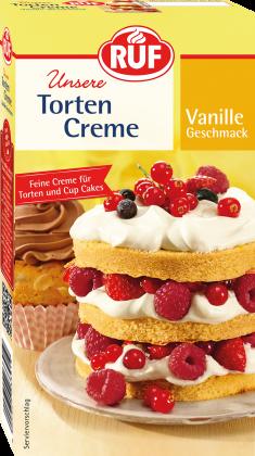 Tortencreme Vanille-Geschmack