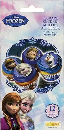 12 Zucker-Muffinaufleger Frozen