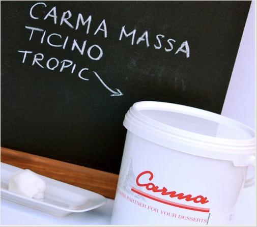 Massa Ticino Tropic Fondant weiß 7kg Eimer