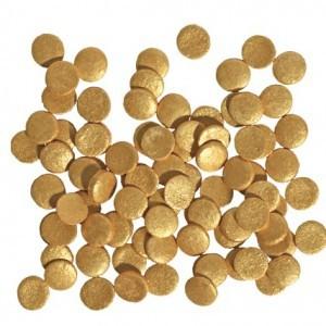 Tasty Me Zucker Pailletten Gold