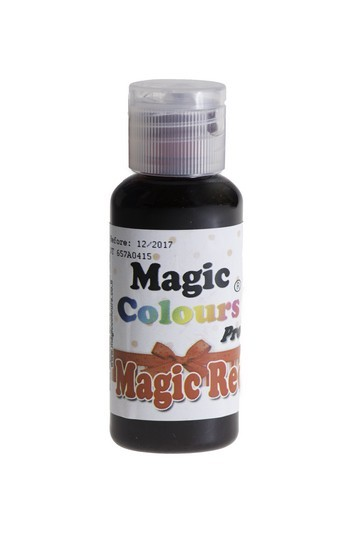Magic Colours, Gelfarbe - Magic Red, Rot 32 g