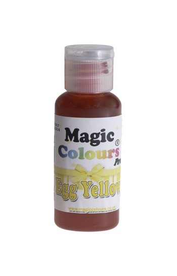 Magic Colours, Gelfarbe - Egg Yellow, Gelb 32 g