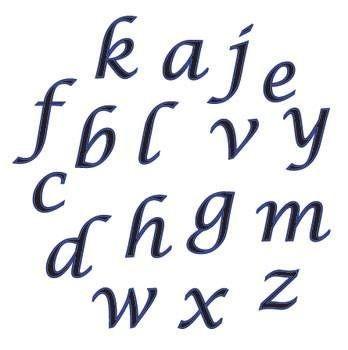 Buchstaben - Skript - KLEIN