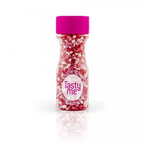 Tasty Me Zucker - Herzen 3farbig MIni