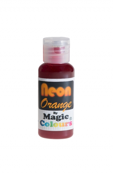 Magic Colours, Pastenfarbe - Neon-Orange, 32 g