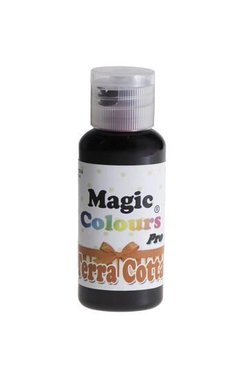 Magic Colours, Gelfarbe - Terra Cotta, Orangerot 32 g