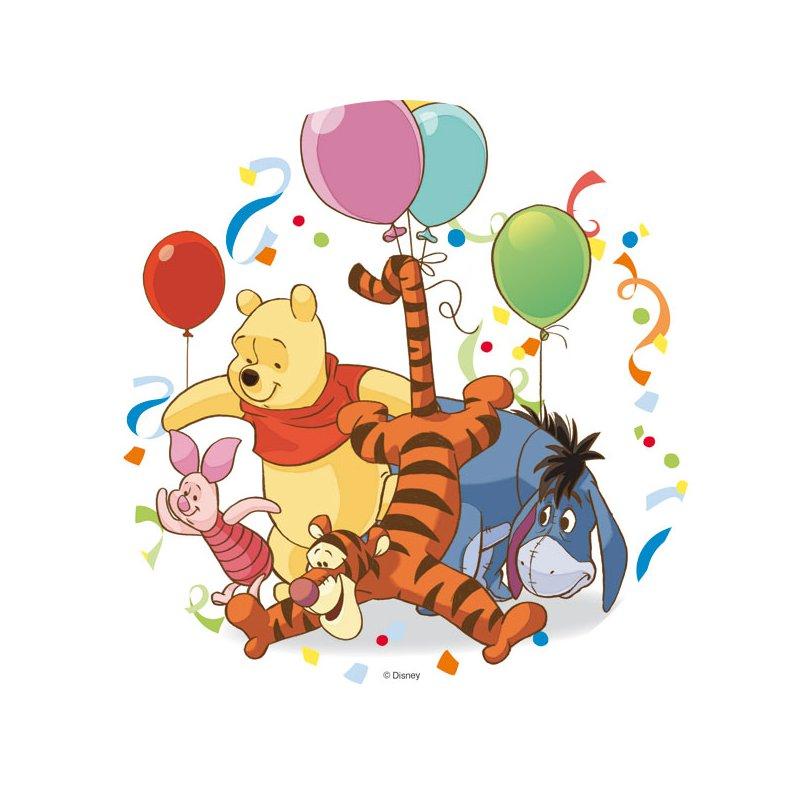 Tortenaufleger Winni the Pooh | Dekoration | Tortenbuffet