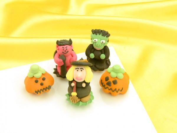Halloween-Figuren Zucker 5 Stück