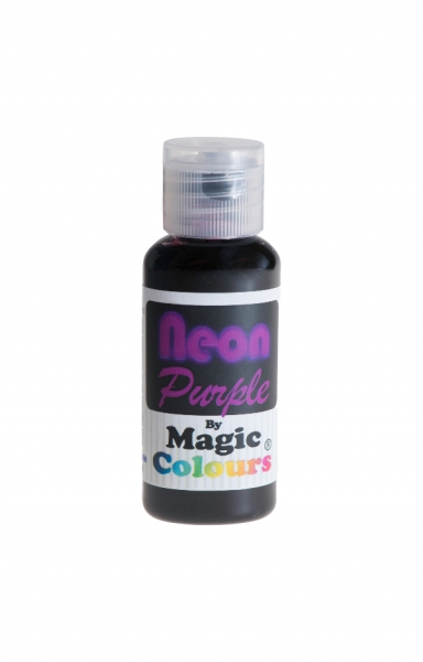 Magic Colours, Pastenfarbe - Neon-Lila, 32 g