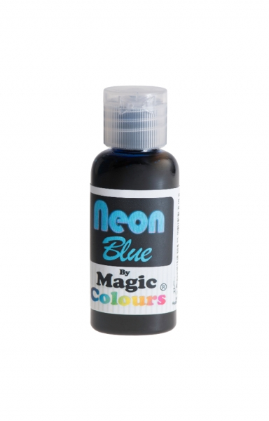 Magic Colours, Pastenfarbe - Neon-Blau, 32 g