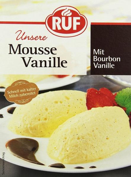 Mousse Vanille 65g