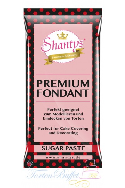 Shantys Premium Fondant - rot - 1 kg