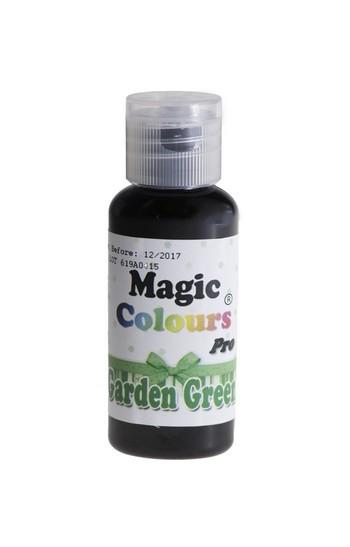 Magic Colours, Gelfarbe - Garden Green, Grün 32 g