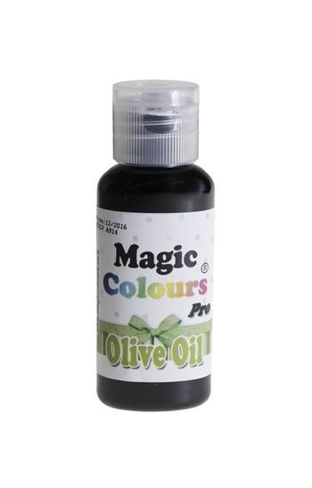 Magic Colours, Gelfarbe - Olive Oil, Grün 32 g