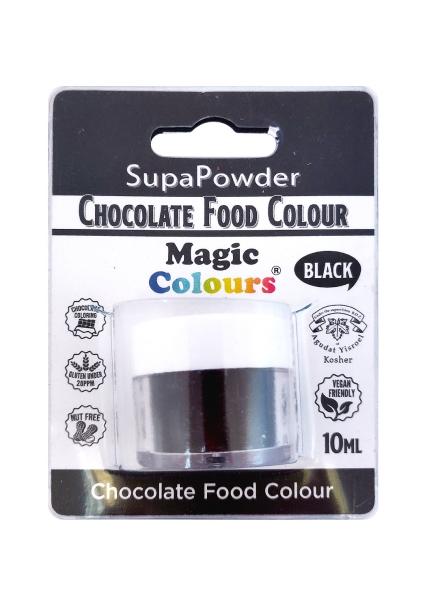 Magic Colours, für Schokolade - Pulver schwarz