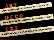 Buchstaben - Art Deko - GROß