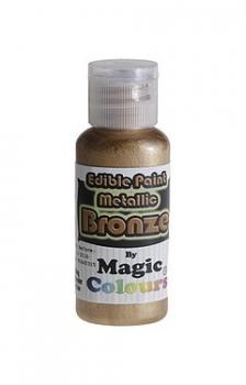 Magic Colours, Essbare Metallicfarbe - Bronze, 32 g
