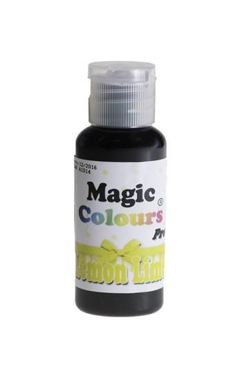 Magic Colours, Gelfarbe - Lemon Lime, Gelb 32 g