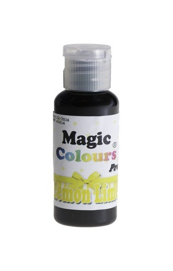 Magic Colours, Gelfarbe - Lemon Lime, Gelb 32 g