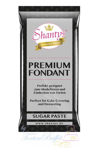 Shantys Premium Fondant - schwarz - 1 kg