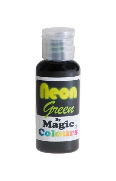 Magic Colours, Pastenfarbe - Neon-Grün, 32 g