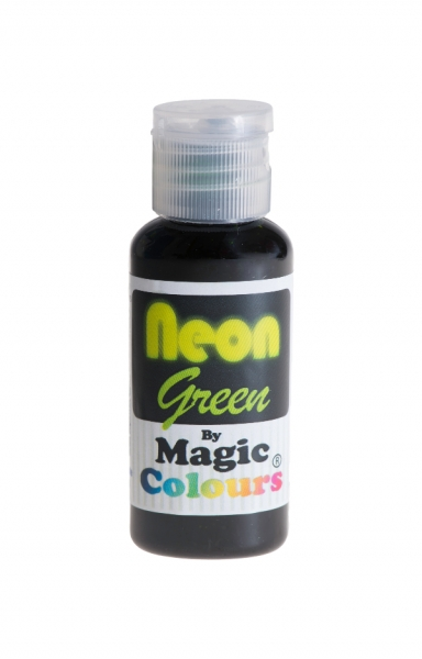 Magic Colours, Pastenfarbe - Neon-Grün, 32 g
