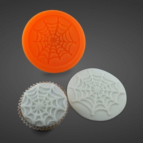 Halloween Spinnennetz - Silikonform