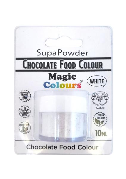 Magic Colours, für Schokolade - Pulver weiß