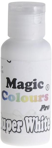 Magic Colours, Gelfarbe - Super White, Weiß 32 g