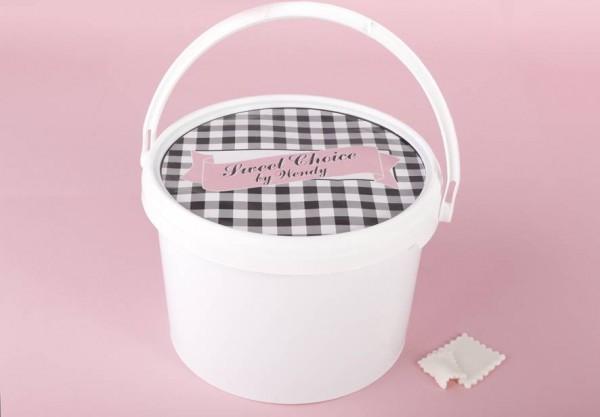 sweet choice fondant wei 5kg eimer fondant co tortenbuffet. Black Bedroom Furniture Sets. Home Design Ideas