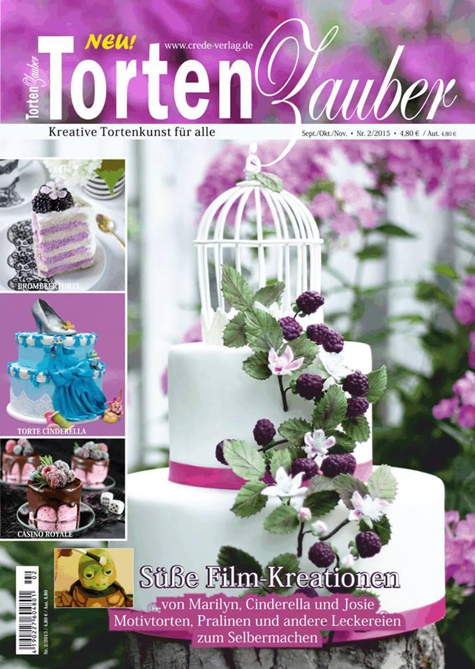 Torten Dekorieren Magazin torten zauber magazin nr 2 lektüre tortenbuffet