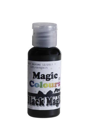 Magic Colours, Gelfarbe - Black Magic, Schwarz 32 g