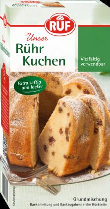 Backmischung für Rührkuchen