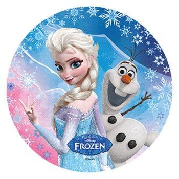 Tortenaufleger Elsa und Olaf